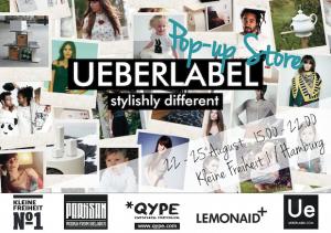 UEBERLABEL pop up store St.Pauli Hamburg fashion stylishly different