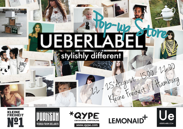 UEBERLABEL pop up store St.Pauli Hamburg fashion stylishly different